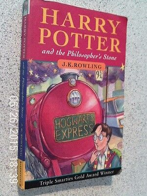 Harry Potter And The Philosophers Stone- 1St Edition 1997 - J K Rowling
