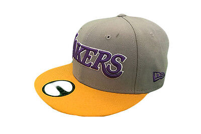 Los Angeles Lakers NBA 59FIFTY New Era Fitted Baseball Cap 7 1/4