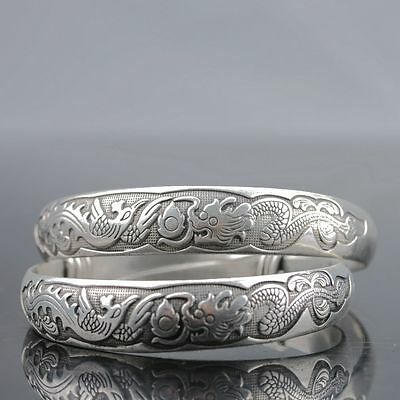 Chinese Tibet Silver Handwork National Fashion Bracelet