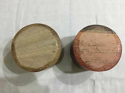 2 Pieces Hardwood Turning Bowl Blanks  (set 9)