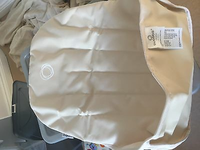 bugaboo cameleon tailored fabric seat liner -  off white