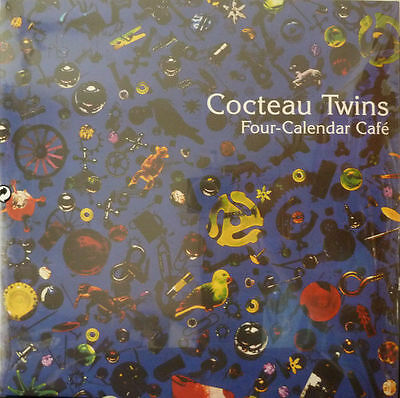 COCTEAU TWINS – FOUR CALENDAR CAFE, 2LP blue vinyl , RSD 2017 NEW!