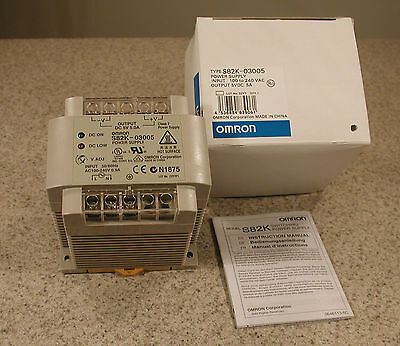Omron S82K-03005 DC Power Supply 5V 5.0A New