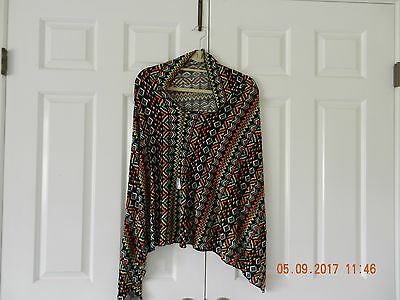Cover Me Poncho, Jersey Knit Nursing Cover