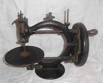 Early Beauty! 1860's Little Wanzer Antique Sewing Machine Richard Manzer Canada