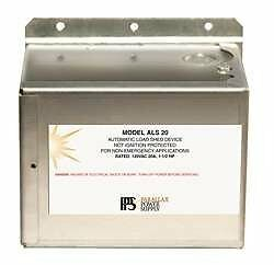 Parallax Power Supply (Als20) Automatic Load Shed Device