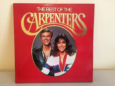 """BEST OF THE CARPENTERS"" 4LP vinyl box set very good condition"