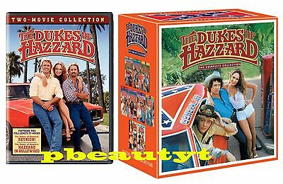 The DUKES of HAZZARD Complete Collection Seasons 1-7+4 Movies DVD 2 Sets NEW