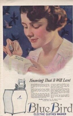 1920 Blue Bird Electric Clothes Washer Cole Appliance8599