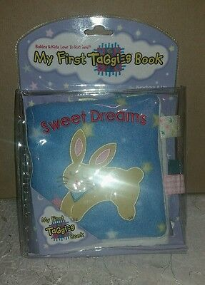 (My First Taggies) Rag book Book  brand new