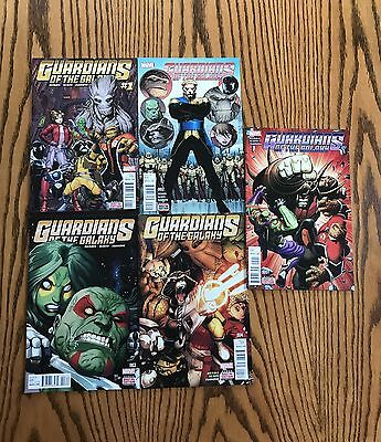 Guardians Of The Galaxy: New Guard #1-10 Current Issues Marvel Comics