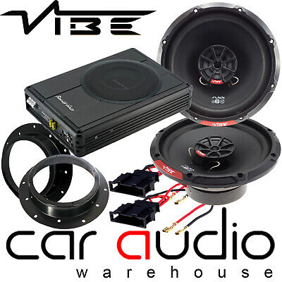 VW T5 Transporter Vibe BA6 540W Door Speakers & 900W Underseat Car Subwoofer Kit