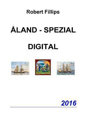 Fillips: Briefmarkenkatalog ALAND - SPEZIAL 2016 DIGITAL