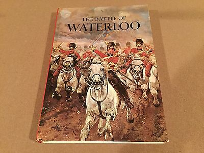 First Edition HC. The Battle Of Waterloo Author J.Christopher Herold