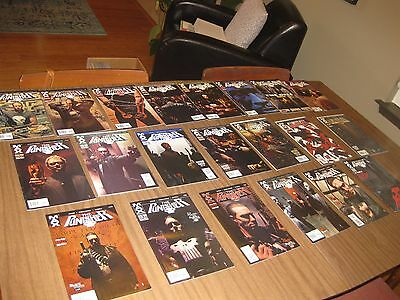 Lot Of 23 The Punisher Max Comics