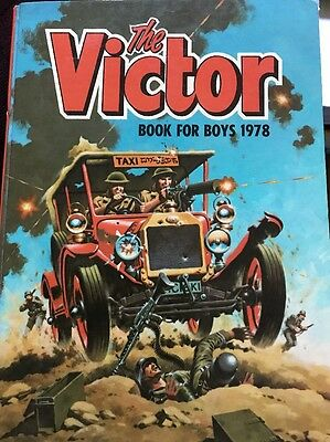 VICTOR Book for Boys 1978 Annual