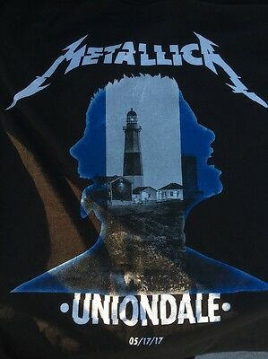 Metallica Worldwired Tour T Shirt Uniondale Ny Event 5/17/2017 Xl Coliseum