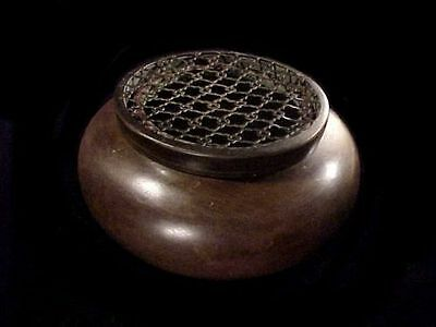 antique chinese copper incense burners with seal