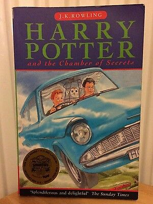 Harry potter and the chamber of secrets*bloomsbury 2nd print paperback*