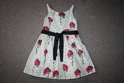 M&S girl's party dress age 6-7