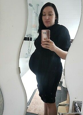 New Look maternity size 16 Black dress