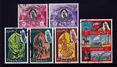 Bahrain Stamps SC # 147-52 Used Cat.$27