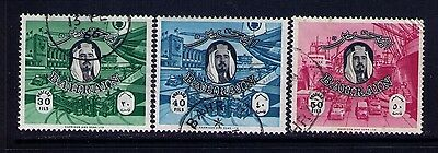 Bahrain Stamps SC # 145-7 Used