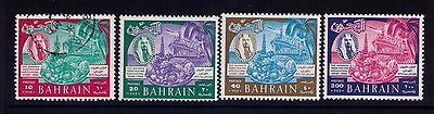 Bahrain Stamps SC # 153,154-6 Used/MLH Set Cat.$16