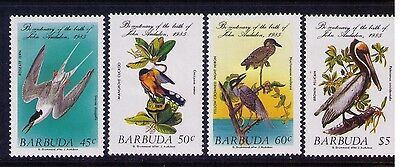 Barbuda Stamps Birds SC #701-4 Cpl. MH Set