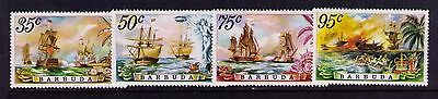 Barbuda Stamps SC #209-212 MNH