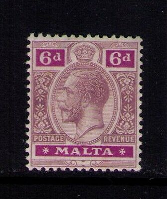Malta Stamp KGV  SC #71 MH Cat.$65