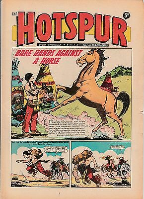 HOTSPUR COMIC No 435 February 1968 Very Good condition