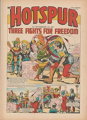 HOTSPUR COMIC No 381 February 1967 Very Good condition