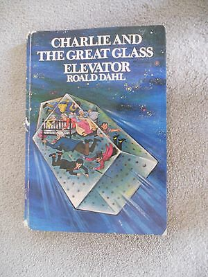 CHARLIE and the GREAT GLASS ELEVATOR by ROALD DAHL 1st.ed.1st.imp.1973 Pub A & U