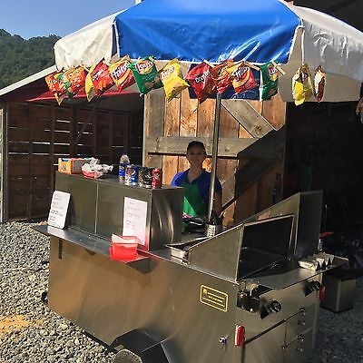 Hot Dog Cart for sale. NC Licensed Insured and Inspected Propane Push