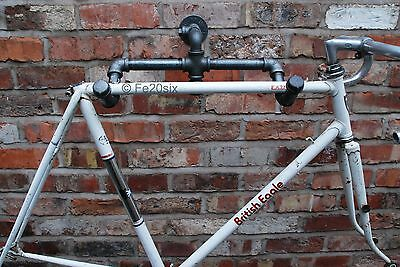 Bike Bicycle wall mount storage rack Industrial Retro Vintage Antique by Fe20six