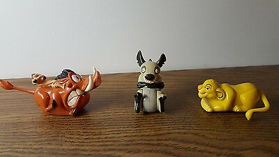 Disney collectable toys made for Burger King lot of 3