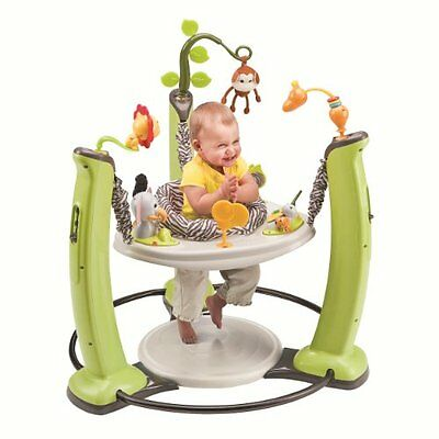 Evenflo ExerSaucer Jump and Learn Jumper, Jungle Quest...New, Free Shipping