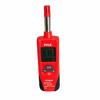 Pyle - PTHM20 - Temperature and Humidity Meter With Dew Point and Wet Bulb Temp