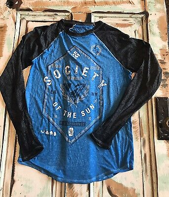 Society Long Sleeve Shirt Made For Buckle. Size Small Men's Or Women's