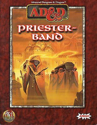 AD&D-Advanced Dungeons & Dragons-PRIESTERBAND-Abenteuer-Rollenspiel-TSR-rare