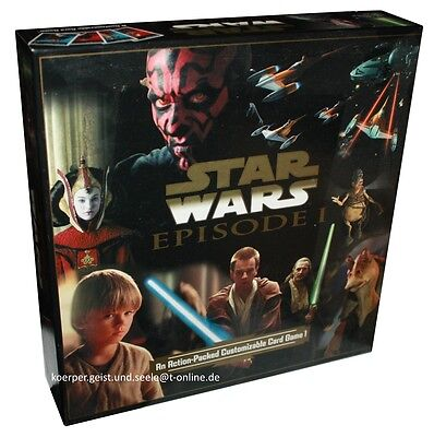 Star Wars-Episode 1-Customizable Card Game-Darth Vader-Luke Skywalker-very rare