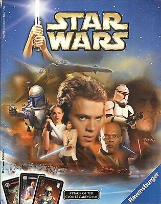 Star Wars-Attack of the Clones-Krieg der Sterne-Skywalker-Darth Vader-Card Game
