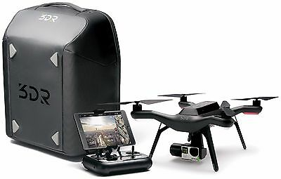 3DR Solo Aerial Smart Drone with Gimbal & Protective Backpack - BB13A