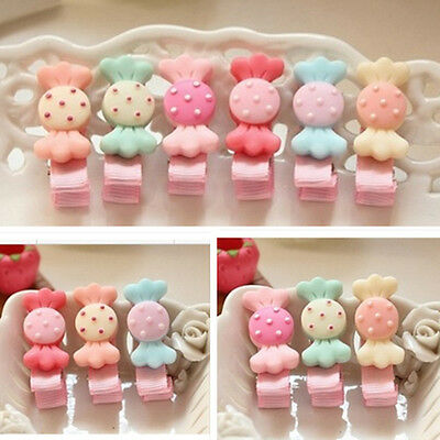 5Pcs lot cute resin candy Kids Girls Baby Hair Clips hairpins Hair Accessories