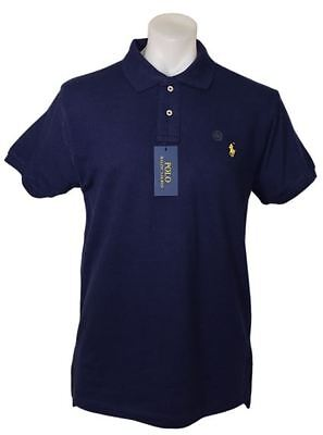 Authentic Ralph Lauren polo men's t-shirt short sleeve, collar neck