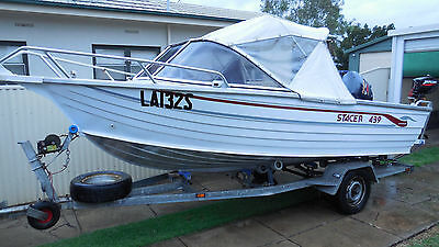 Stacer 439 Runabout Evinrude 4 Stroke 40 Hp Edwardstown Area Sa