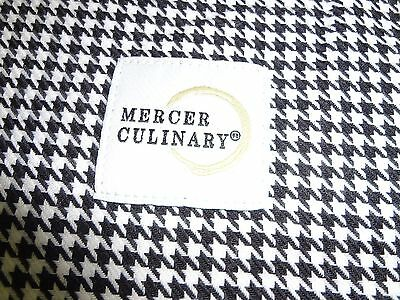 Mercer Culinary womens cook pants, houndstooth, size medium - NEW