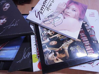 JYP TWICE , 2PM , WONER GIRLS , GOT7, MIISS A Autographed