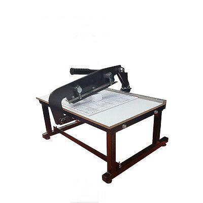 Manual Sample cloth cutting machine Knife Tools Cutting Machine NEW Best Price